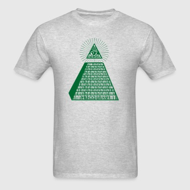 Eye Of Providence Green Sportswear - Men's T-Shirt