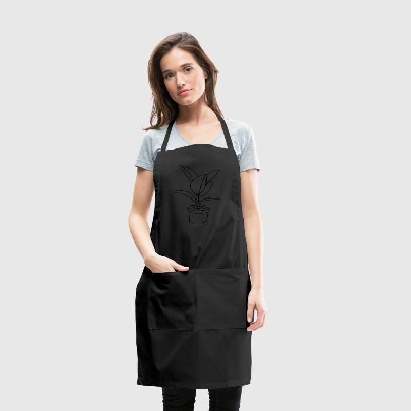 RUBBER TREE / Houseplant Aprons - Adjustable Apron