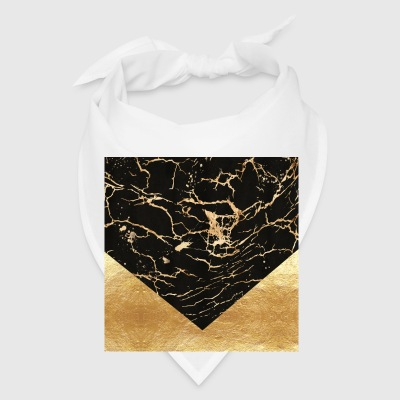 black_gold_marble_22_spread Phone & Tablet Cases - Bandana