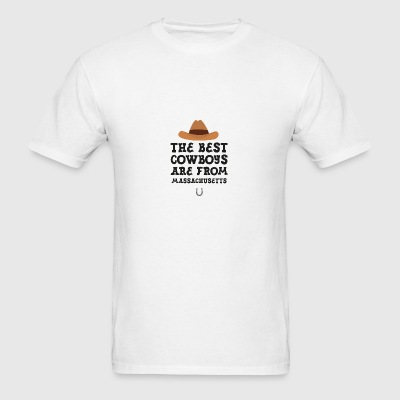 The best Cowboys are from Massachusetts  Gift Sportswear - Men's T-Shirt