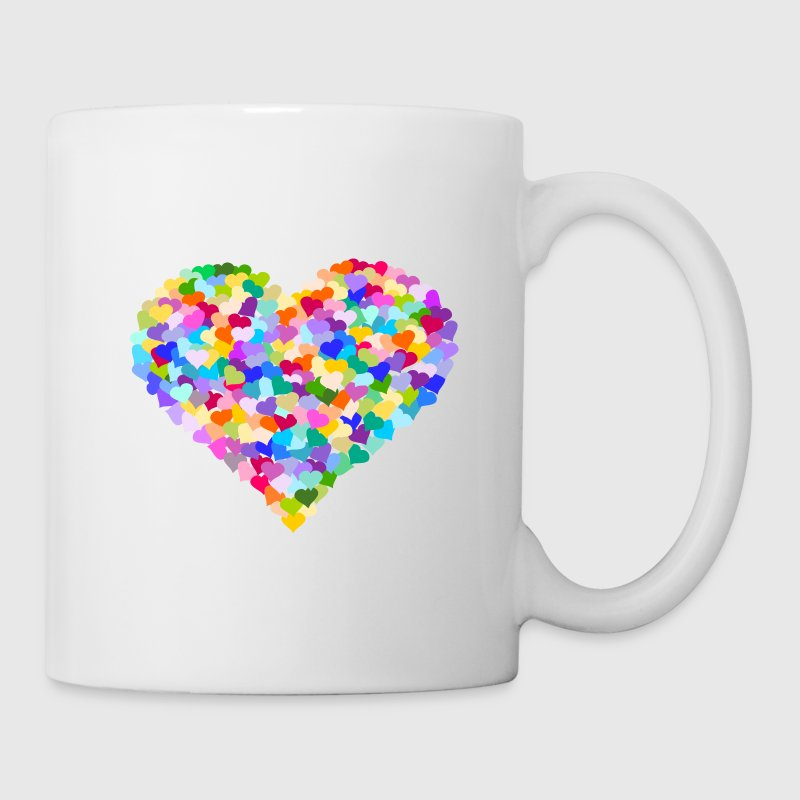 Rainbow Heart of hearts - Coffee/Tea Mug
