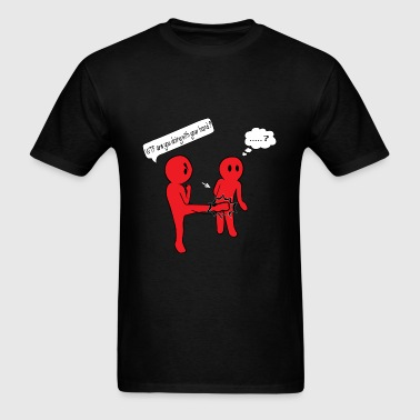 WTF are you doing with... Sportswear - Men's T-Shirt
