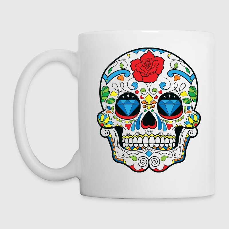 Sugar Skull Accessories - Coffee/Tea Mug