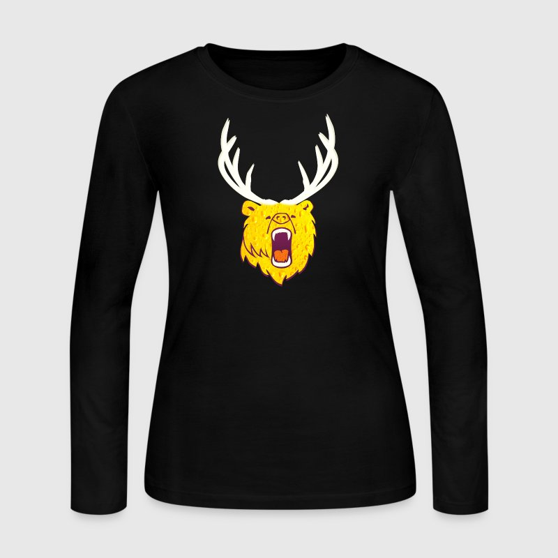 The beer (grizzly, DDP) Long Sleeve Shirts - Women's Long Sleeve Jersey T-Shirt
