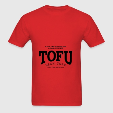 Tofu (black oldstyle) - Men's T-Shirt