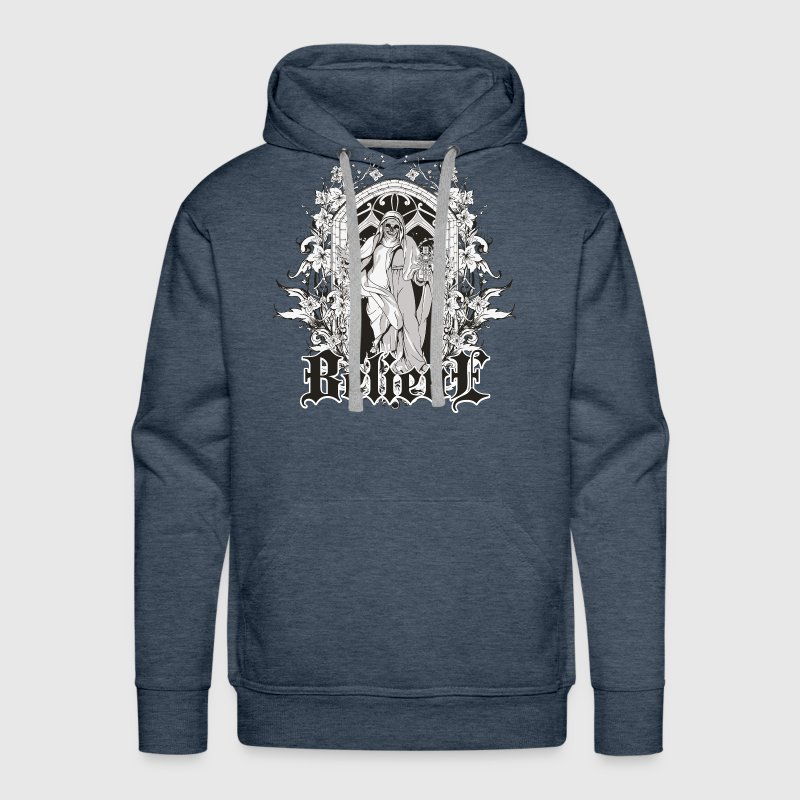 Religious Believe Death Men's Long Sleeve - Men's Premium Hoodie