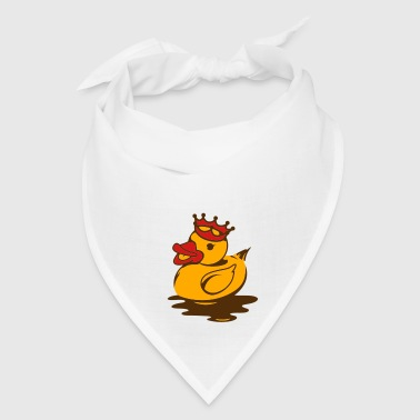 A duck with a crown Accessories - Bandana