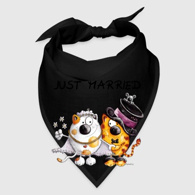 Just Married Cats - Wesding - Marriage - Gift  Bags & backpacks - Bandana