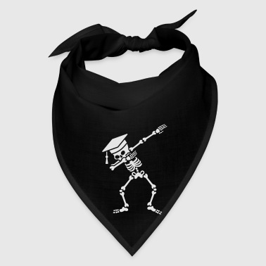 Dab skeleton dabbing student - pass exams Bags & backpacks - Bandana