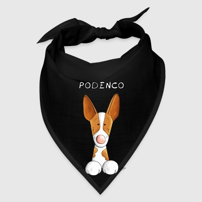 Funny Podenco - Dog - Dogs - Gift - Cartoon Mugs & Drinkware - Bandana