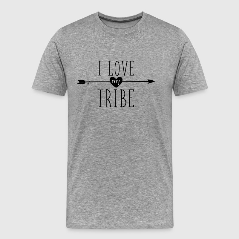 I Love My Tribe - Family Reunion T-Shirts - Men's Premium T-Shirt