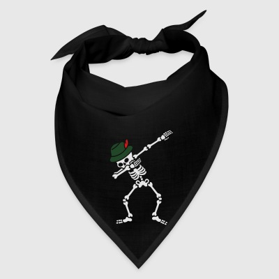 Dab Skeleton Oktoberfest Hat Bags & backpacks - Bandana