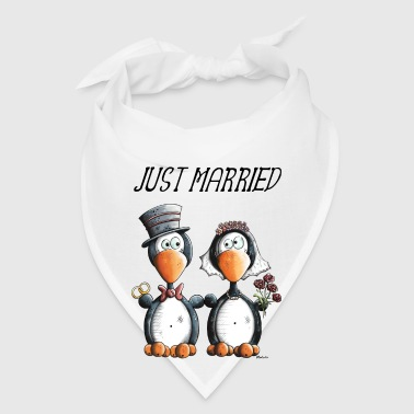Just Married Penguins - Wedding - Gift - Bride Bags & backpacks - Bandana