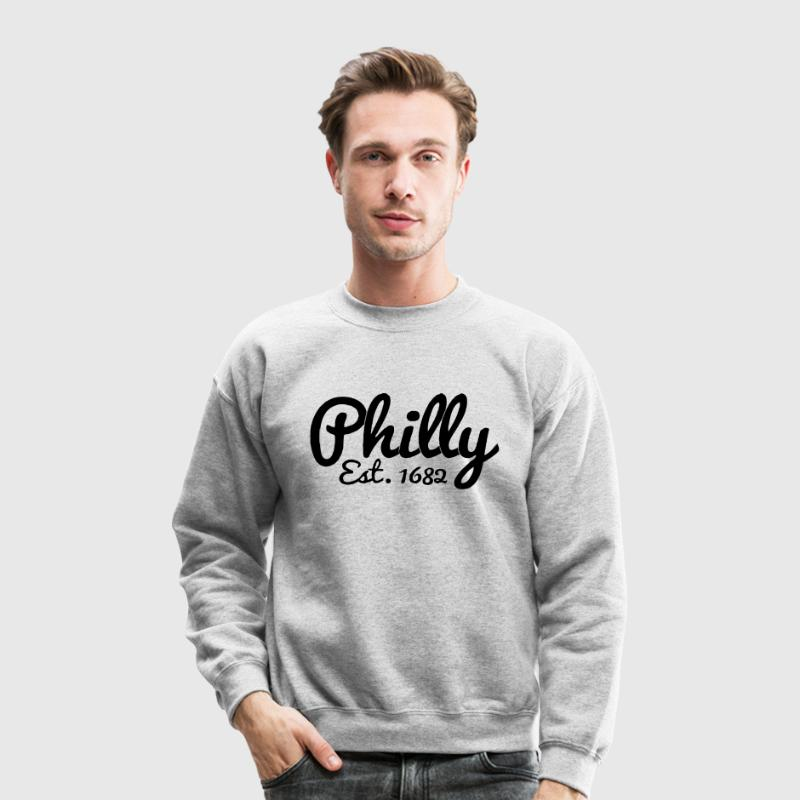 Philly Long Sleeve Shirts - Crewneck Sweatshirt