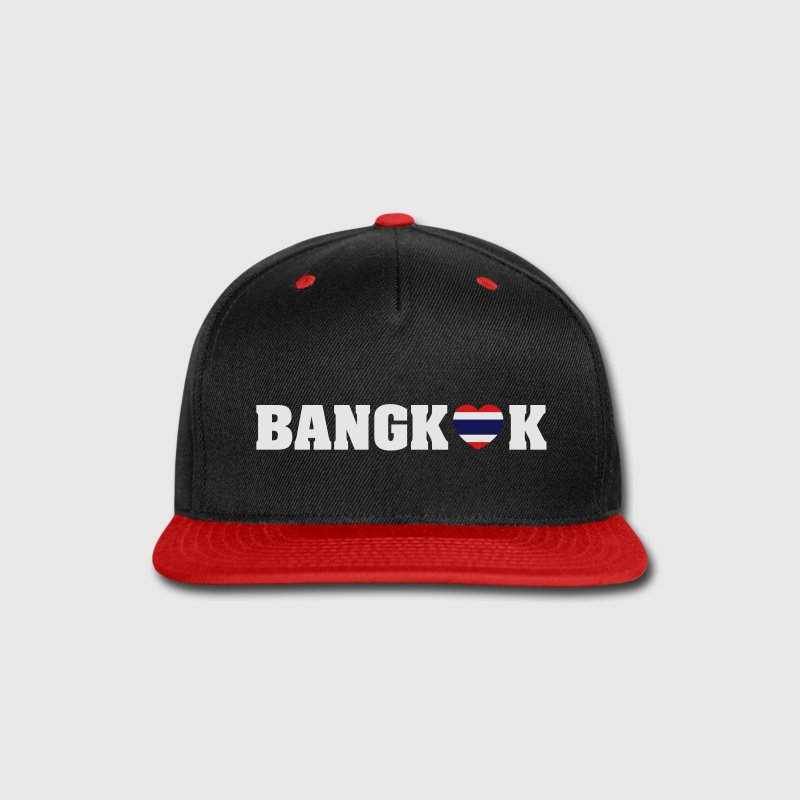 BANGKOK LOVE HEART THAI FLAG Sportswear - Snap-back Baseball Cap