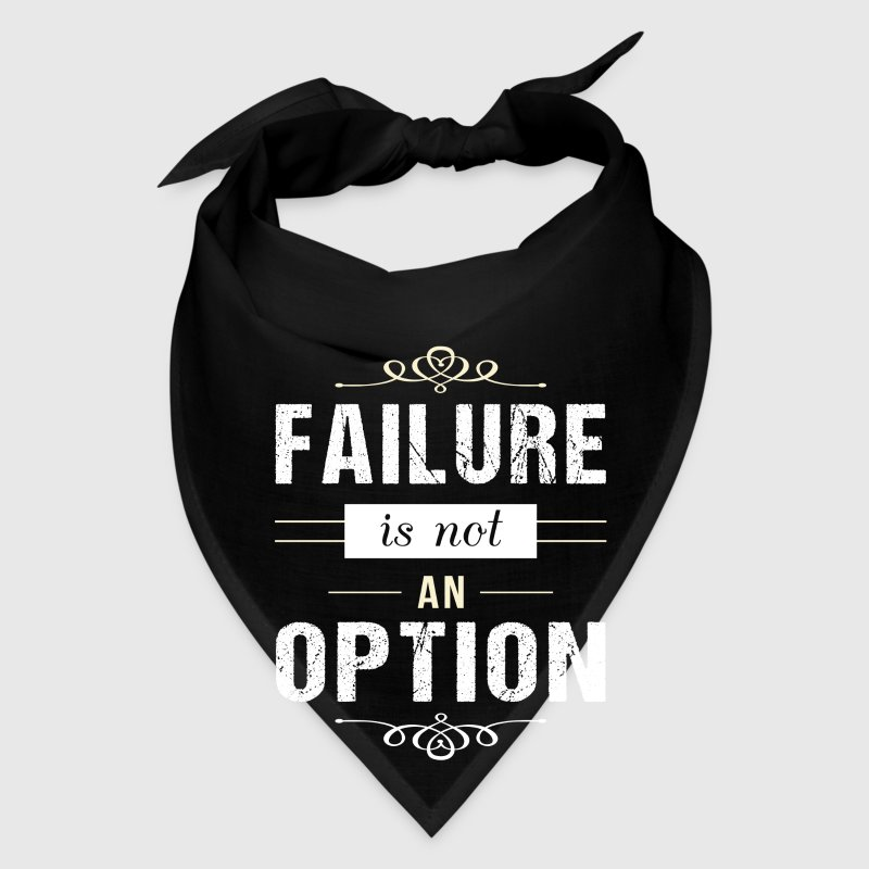Failure is not an Option - motivation Caps - Bandana