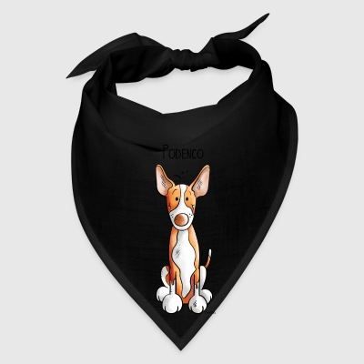 Funny Podenco - Dog - Dogs - Cartoon - Gift Bags & backpacks - Bandana
