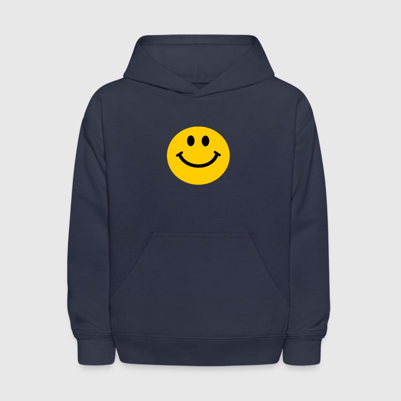 Yellow Smiley Face Sweatshirts - Kids' Hoodie