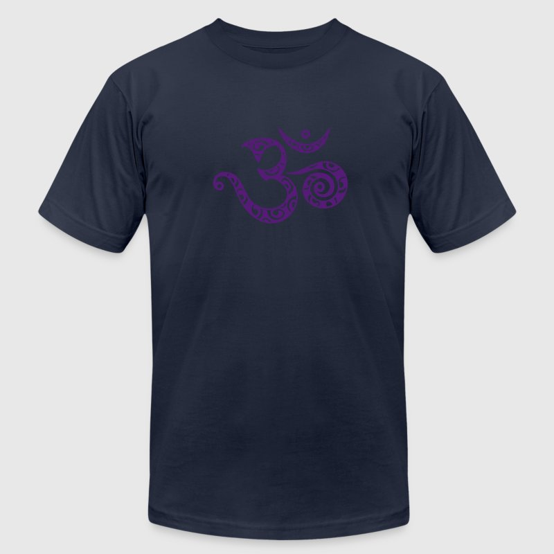 Sacred OM / I AM / Symbol of spiritual strength / T-Shirts - Men's T-Shirt by American Apparel