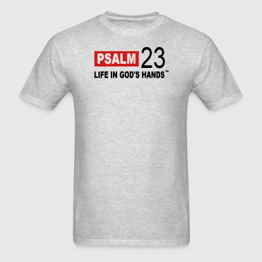 PSALM 23 LIFE IN GOD'S HANDS Long Sleeve Shirts - Men's T-Shirt