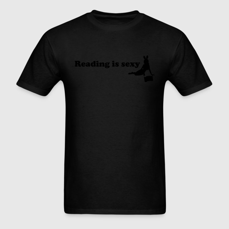reading is sexy T-Shirts - Men's T-Shirt