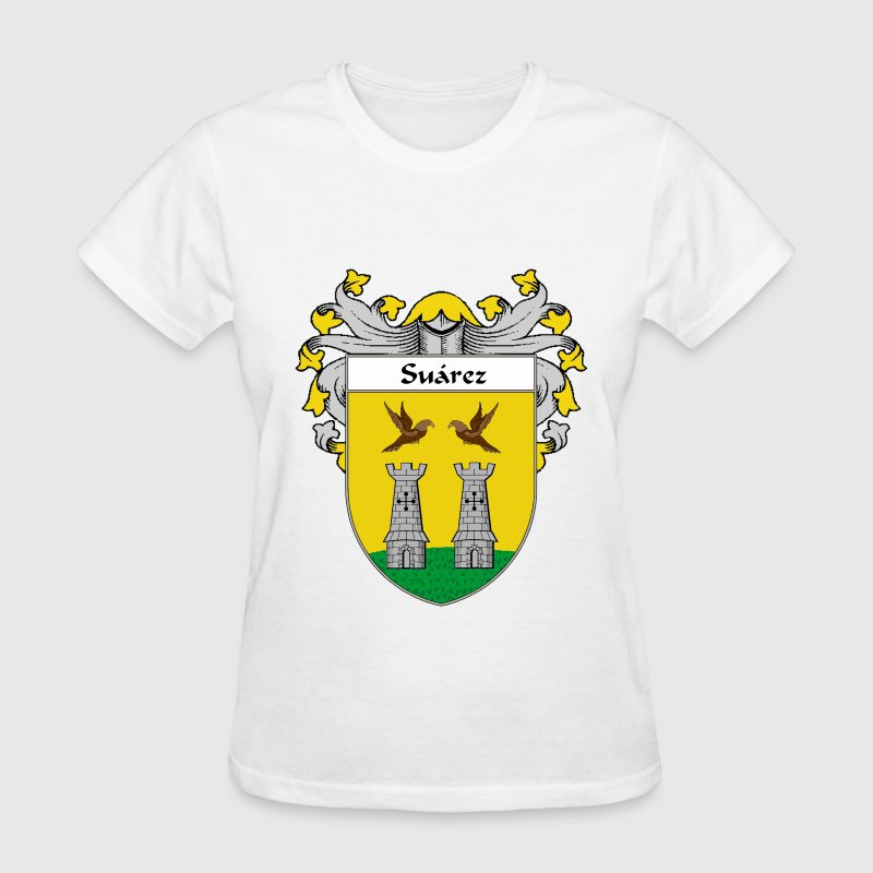 Suárez Coat of Arms/Family Crest - Women's T-Shirt