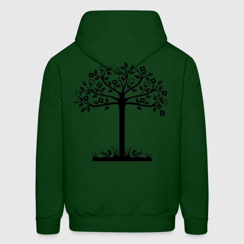 Urban Tree Design - Men's Hoodie