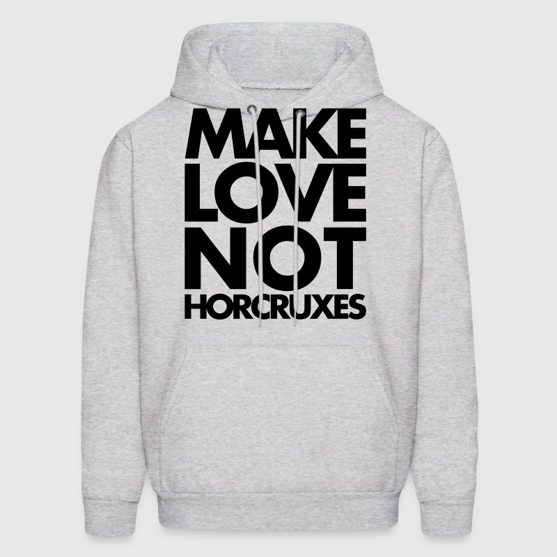 Make Love Not Horcruxes Hoodies - Men's Hoodie