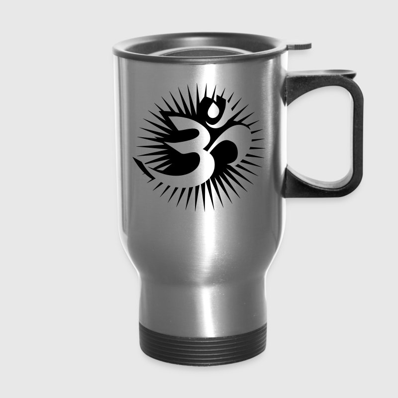 Om symbol 3D Accessories - Travel Mug