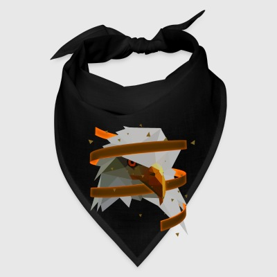 3D Art Polygonal Animal - Eagle Bags & backpacks - Bandana