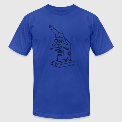 MICROSCOPE - Men's T-Shirt by American Apparel