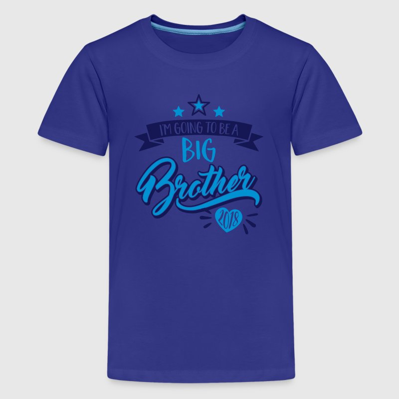 Big brother 2018 - pregnancy - pregnant-gift-baby Kids' Shirts - Kids' Premium T-Shirt