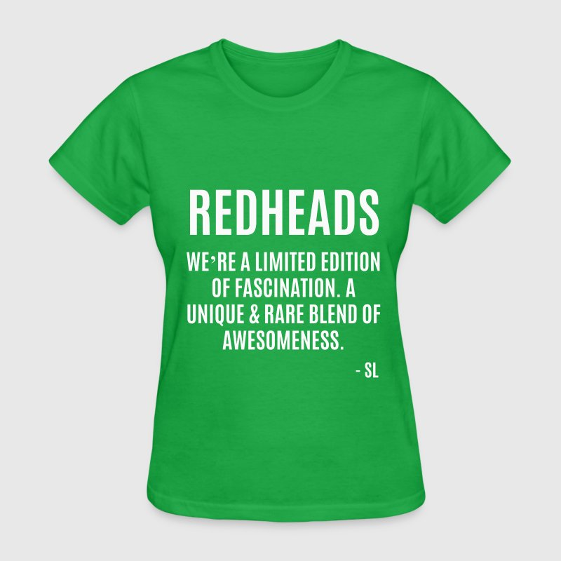 Natural Redhead Quotes T-Shirts - Women's T-Shirt
