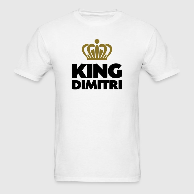 King dimitri name thing crown - Men's T-Shirt
