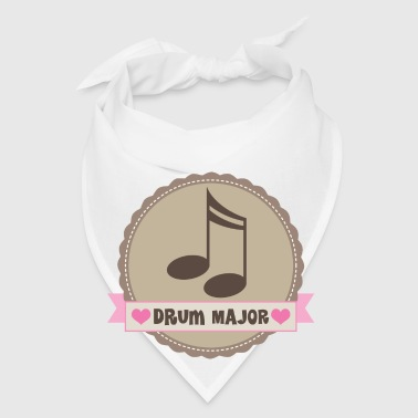Drum Major Music Gift Mug - Bandana