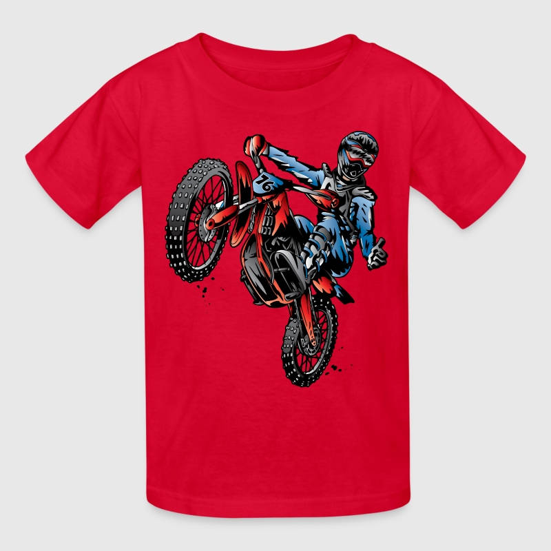 Motocross Dirt Bike Stunt Rider T Shirt Spreadshirt