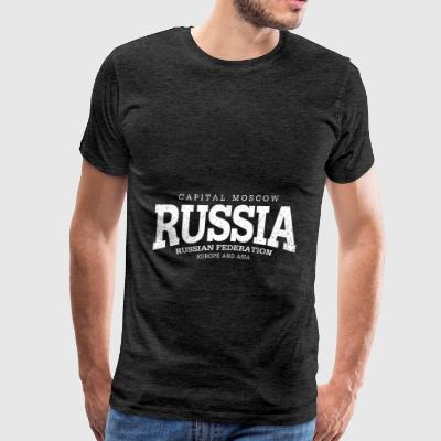 Russia (white oldstyle) - Men's Premium T-Shirt