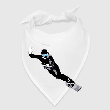 SNOWBOARDING (ADD CUSTOM TEXT) - Bandana