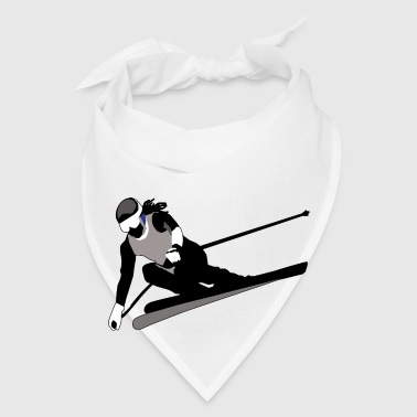 Skiing (ADD CUSTOM TEXT) - Bandana