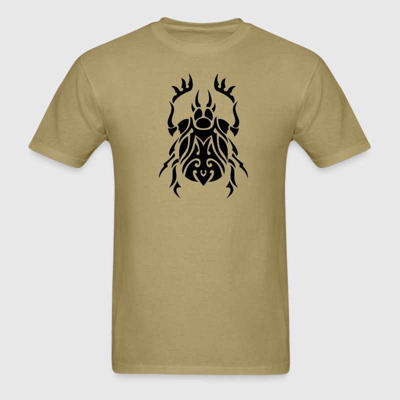 Beetle Tribal Tattoo 3 T-Shirts - Men's T-Shirt