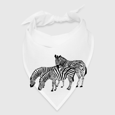 Family of Zebras - Bandana