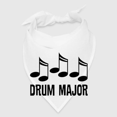 Drum Major Marching Band Gift Mugs & Drinkware - Bandana