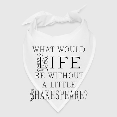 Shakespeare Quote Gift Mugs & Drinkware - Bandana