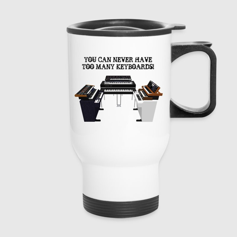 Too Many Keyboards: Travel Mug - Travel Mug