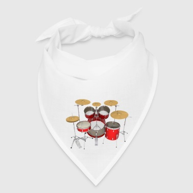 Red Drum Kit: Mug - Bandana