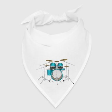 Aqua Drum Kit: Button - Bandana