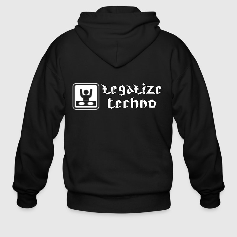 legalize techno Zip Hoodies/Jackets - Men's Zip Hoodie