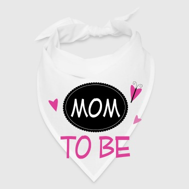 Mom To Be Announcement Butterfly Mugs & Drinkware - Bandana