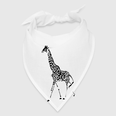 Giraffe (ADD CUSTOM TEXT) - Bandana
