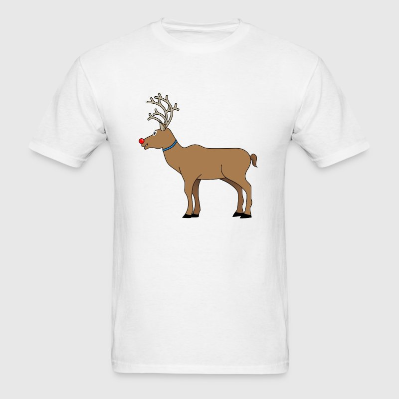 Rudolph The Red Nosed Reindeer T-Shirts - Men's T-Shirt